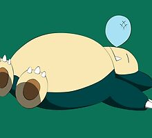 Snorlax by SpecsomeEmilie