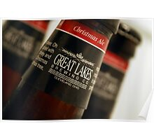 Up Close: Christmas Ale Poster