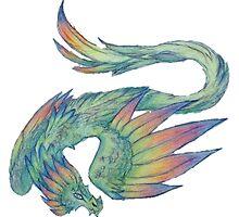 Cute Quetzalcoatl by geck0gir1