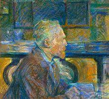 Toulouse Lautrec - Portrait of Vincent Van Gogh by lifetree