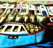 Smugglers Row Zoom 1 by Kaye Miller-Dewing