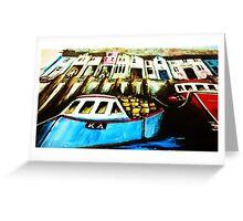 Smugglers Row Zoom 1 Greeting Card