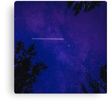 ISS seen from earth Canvas Print