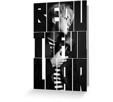 VIXX LR Ravi 'Beautiful Liar' Typography Greeting Card