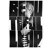 VIXX LR Ravi 'Beautiful Liar' Typography Poster