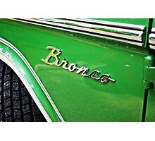 Ford Bronco Photographic Print