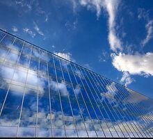 Blue Skies by Sue  Cullumber
