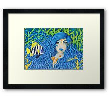 Mother of the Sea [Colored Pencil Artwork] Framed Print
