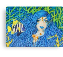 Mother of the Sea [Colored Pencil Artwork] Canvas Print