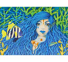 Mother of the Sea [Colored Pencil Artwork] Photographic Print
