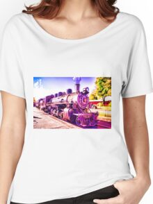 Saturated Steam Train Women's Relaxed Fit T-Shirt