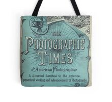 The Photographic Times in Blue Tote Bag