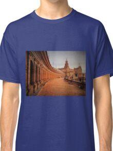 Plaza De Espana Upper Level Classic T-Shirt