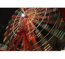 Amusement Ride Photographic Print