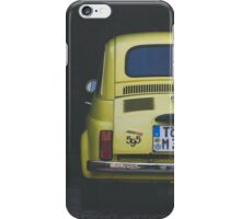 Vintage Fiat 595 iPhone Case/Skin