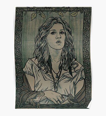 Misty Day: Swamp Queen Poster