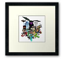 MineWar Framed Print