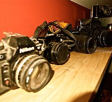 Vintage Camera Collection by JZdezigns