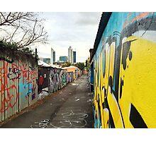 Perth laneways Photographic Print
