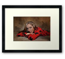""" Beauty can be fun "" Framed Print"