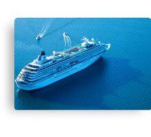 Vessel Tracker through the lens #1 Canvas Print