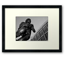 Billy Sims- Oklahoma Heisman Framed Print