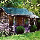 Cabin in The Woods by Lisa Taylor