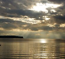 Birch Bay Sunset by Gabe Rodriguez