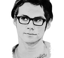 Dylan O'Brien by drawpassionn