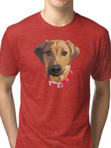 Red Collar 2 Tri-blend T-Shirt