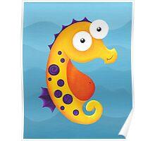 Sea Smiles - Part1 - Sea Horse Poster