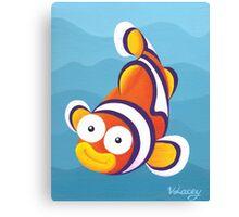 Sea Smiles - Part3 - Clown Fish Canvas Print