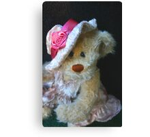 Ms. Bear Canvas Print