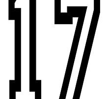 17, TEAM SPORTS, NUMBER 17, SEVENTEEN, SEVENTEENTH, ONE, SEVEN,Competition,  by TOM HILL - Designer