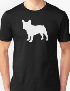 French Bulldog Silhouette Dogs T-Shirt