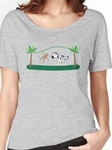 Fun Jungle Animals 2 Women's Relaxed Fit T-Shirt