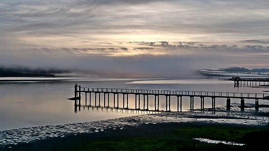 Tomales Bay Sunrise by Scott Johnson