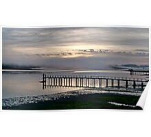 Tomales Bay Sunrise Poster