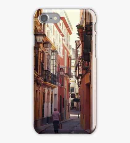 Streets of Seville - Spain  iPhone Case/Skin
