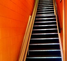 Stairway suitable for PWD by myraj