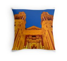 Streets of Seville - Spain - St Ildefonso Throw Pillow