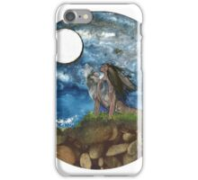 Wolf howl. iPhone Case/Skin