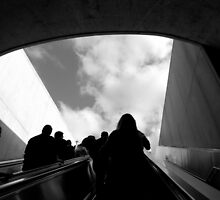 Leaving the Metro by Brittany N. Johnson