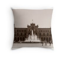Plaza de Espana - Seville Throw Pillow