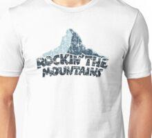 Rockin the Mountains Mountain Dark Unisex T-Shirt