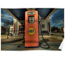 Gas Pump - Gulf Style Poster