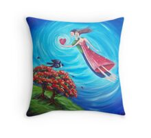 Blooming Love! Throw Pillow