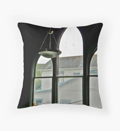 View From Pescadero Community Hall Throw Pillow
