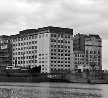 London docks by gabriellaksz