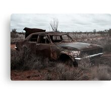 Derelict in the outback Metal Print